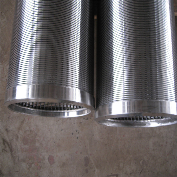 stainless steel Johnson wedge wire wrap screen for water well