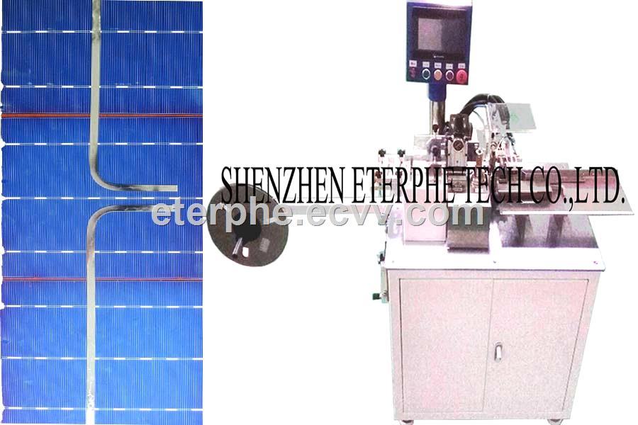 PV Ribbon L shape bend Forming Machine MB140