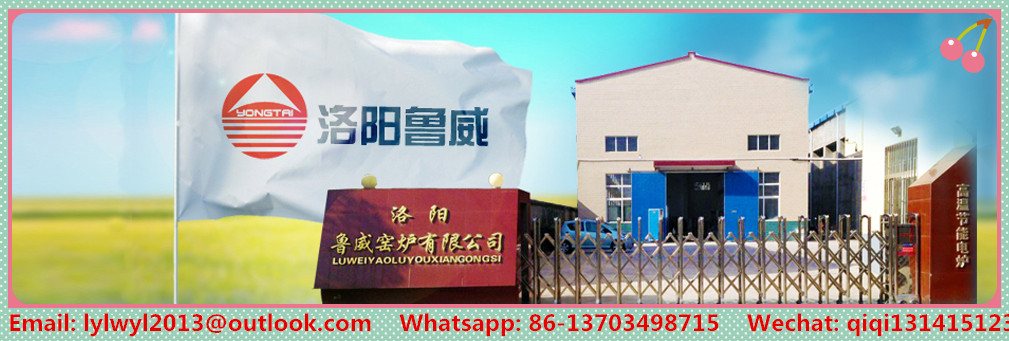 Luwei EXW Price 1200C Industrial Ceramic Electric Shuttle Kiln for Heating Treatment