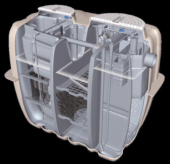 FRPGRP septic tank