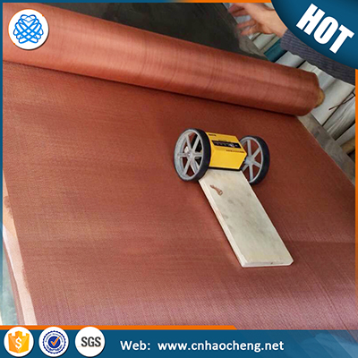 Emf Shielding Pure Copper Wire Mesh