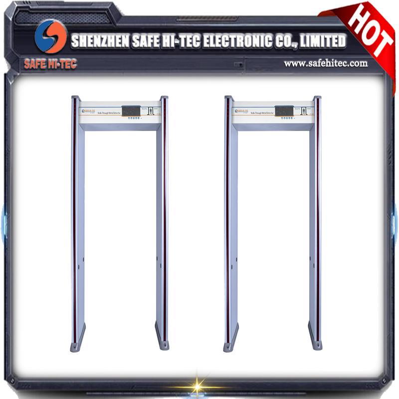 AT300C Multizone walk through metal detector door