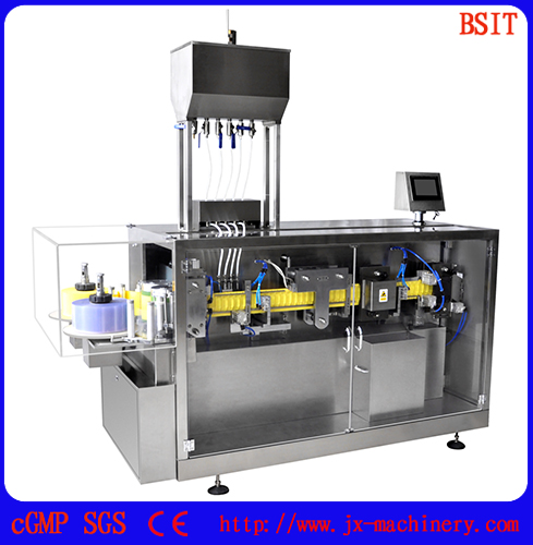 Pesticide Plastic PETPE Bottle Forming and Filling and Sealing Machine for agriculturalchemical industry