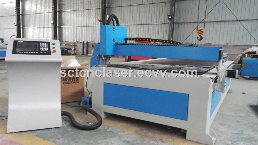 CNC 1300x2500mm sheet metal plasma cutting machine made in China