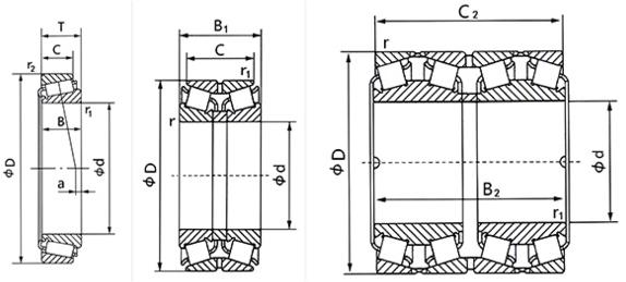SKF FBF Tapered roller bearing 30212 bearing manufacturer bearing made in china