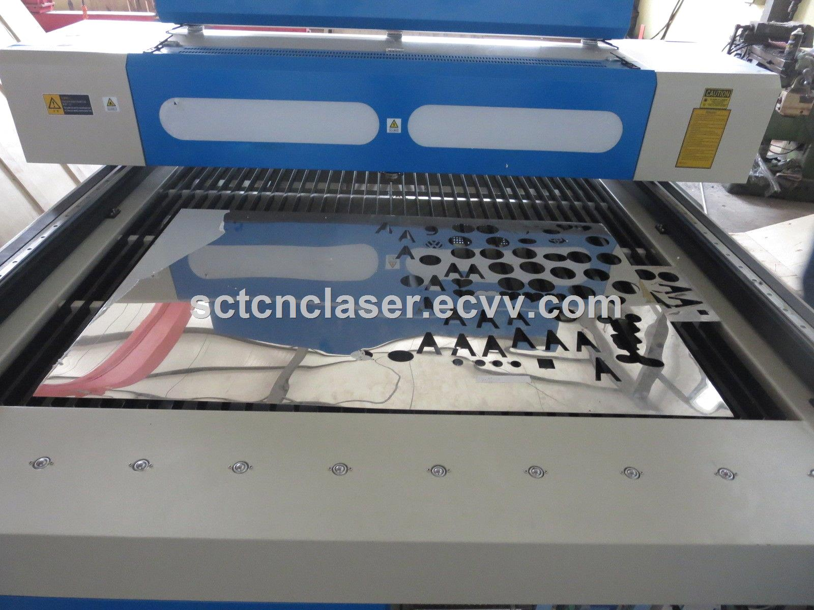 Metal and nonmetal mix co2 250 watts laser cutting machine