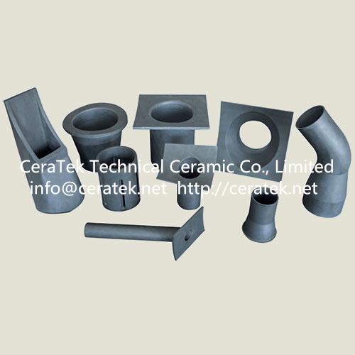 silicon carbide wear resistant lining