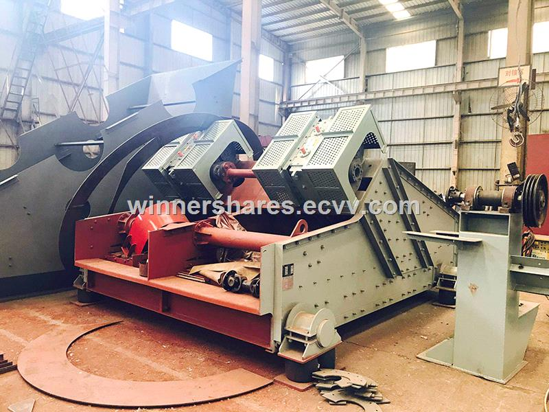 High frequency vibration dewatering screen