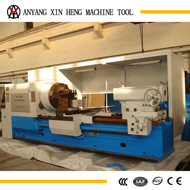 QKA1246 leader brand Hollow Spindle oil country lathes in the oil field industry