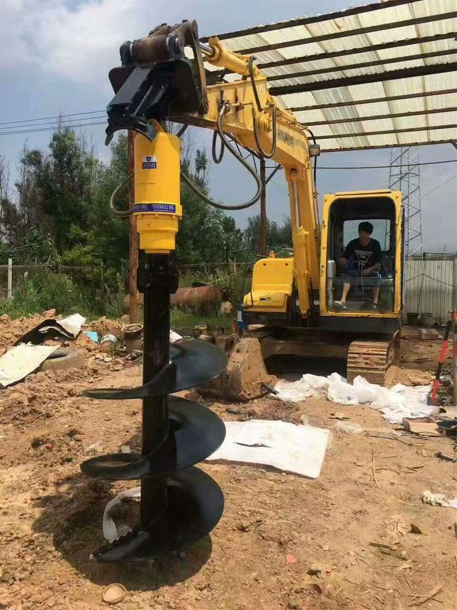 Hydraulic auger rigearth auger drillhdyraulic earth drill for hole digging