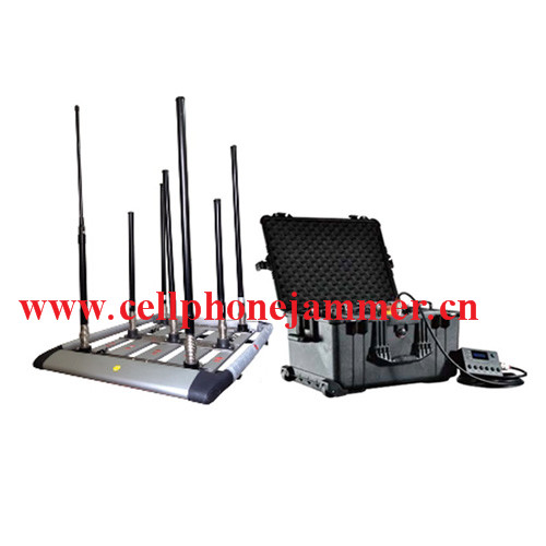 160W 48bands High Power Drone Jammer Jammer up to 1000m
