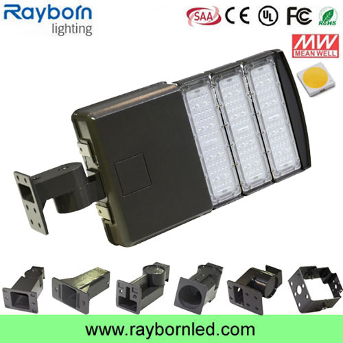 Slip fitter 150w 200w 300w led street light replacement with photocell sensor