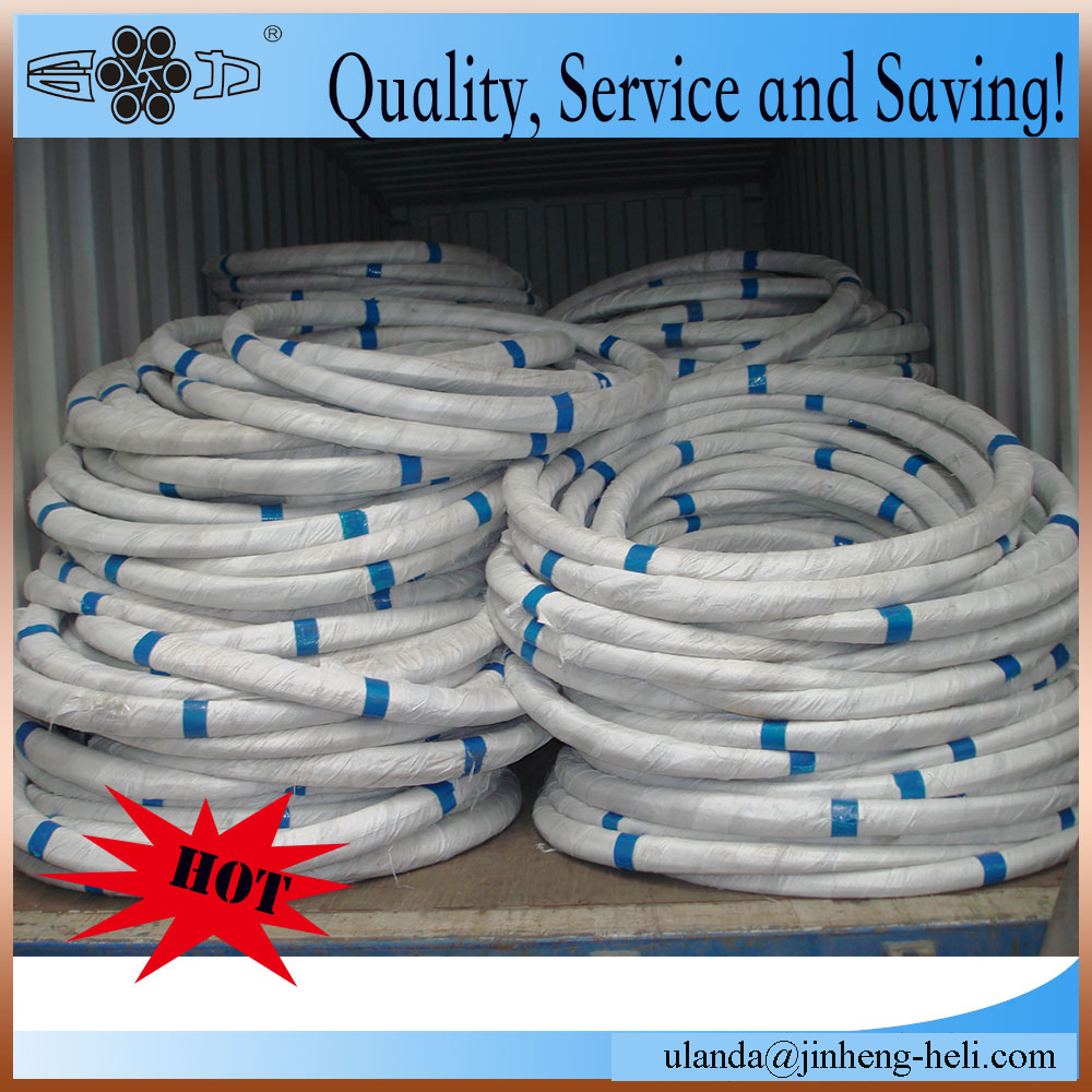Galvanized steel wire for fishing nets 118mm and 106mm
