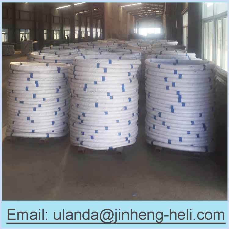 Galvanized steel wire for fishing traps 118mm and 106mm