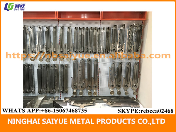 High quality one shot one product pure aluminum heating radiator mold