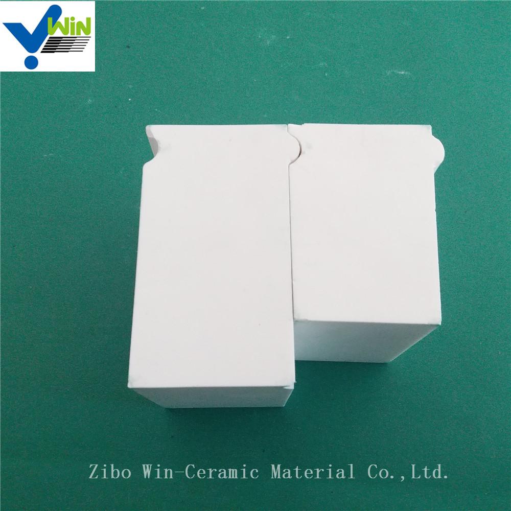 Antiwear materials high purity alumina ceramic brick price