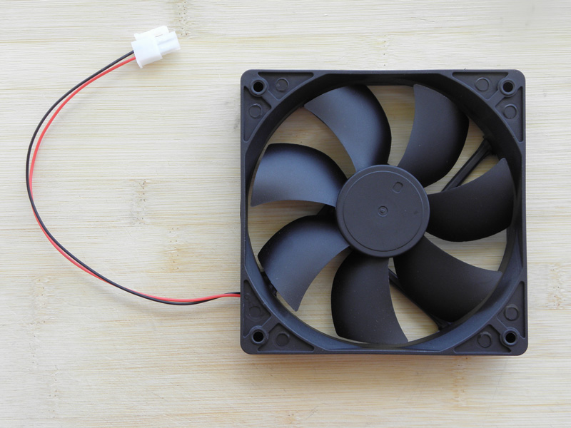 120mm 120x120x25mm dc 12v mini fan 12025 small brushless axial computer pc case cooling fan