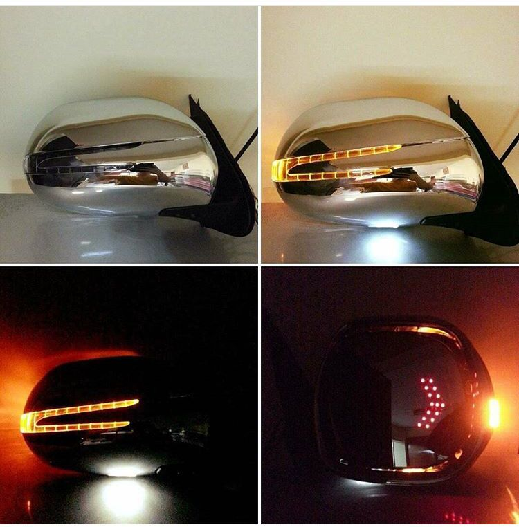 TOYOTA HIACE LED SIDE MIRROR BENZ STYLE AUTOMATIC