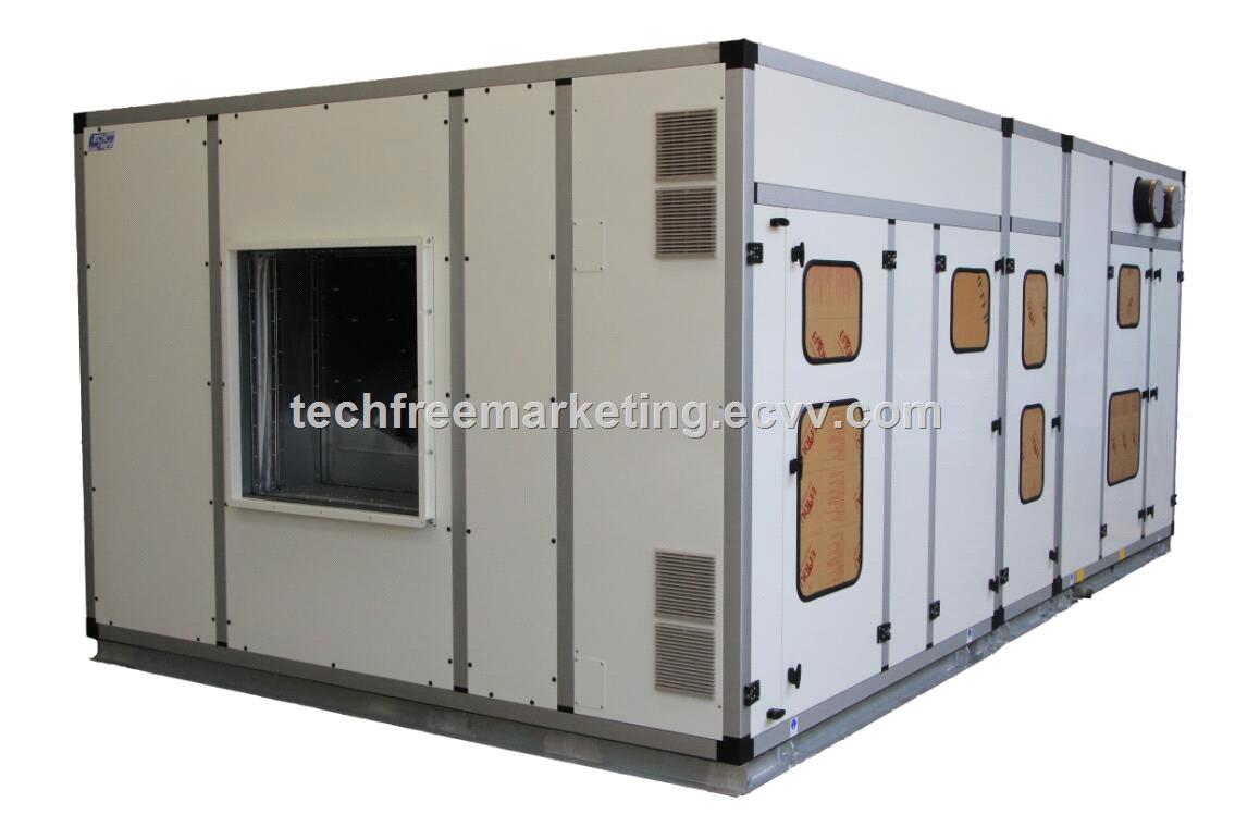 Modular Air Handling Unit with DDC Control System High Efficiency