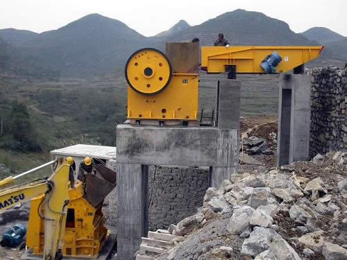 Jaw Crusher Primary Crushing Machine For Mineral Rock Aggregate