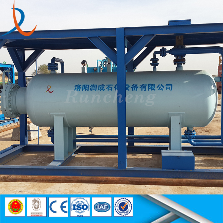 Factory direct sell gas liguid oil gas water filter separator three 3 phase separator