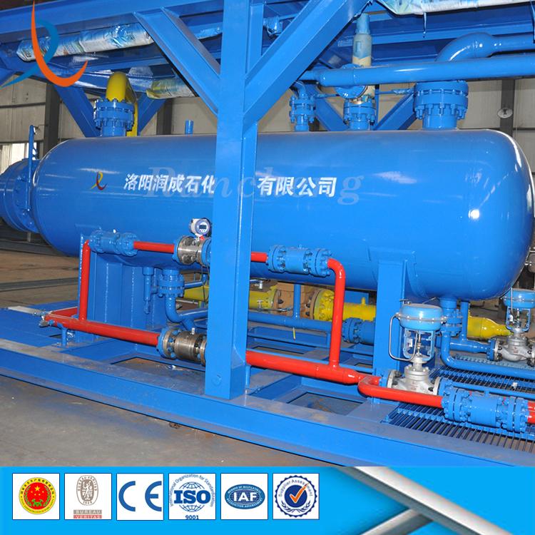 ASME standard three phase gas filter separator oil well testing 3phase separator