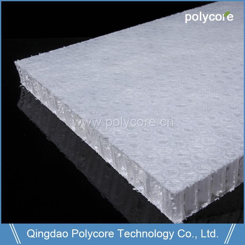 light weight waterproof high strength Polypropylene Honeycomb act as wall panelceiling panelfloor panel for van