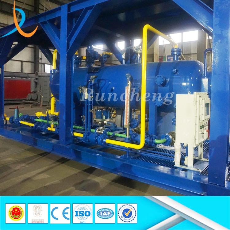 China manufacturer threephase gravity oil gas water filter separator gas well testing 3phase separator