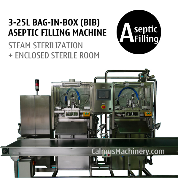 Bag in Box Aseptic Filling Machine Sterile Products BIB Aseptic Filler