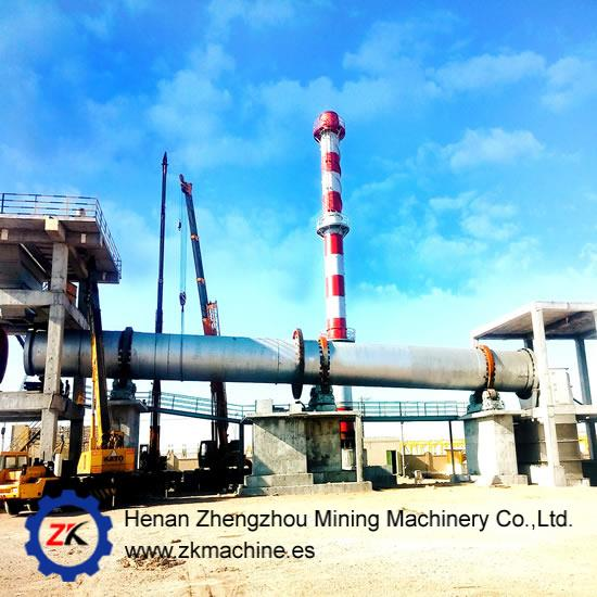 Calcination Rotary Kiln Incinerator for Lime Cement Hazardous waste
