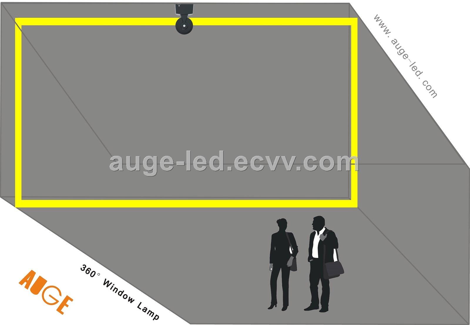 AUGELED window lamp surface mounted led windowsill light IP65 RGB for architectural lighting window lamp dmx RGB 59W