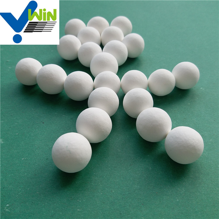 Zibo 995 alumina oxide ceramic catalyst carrier ball microspheres
