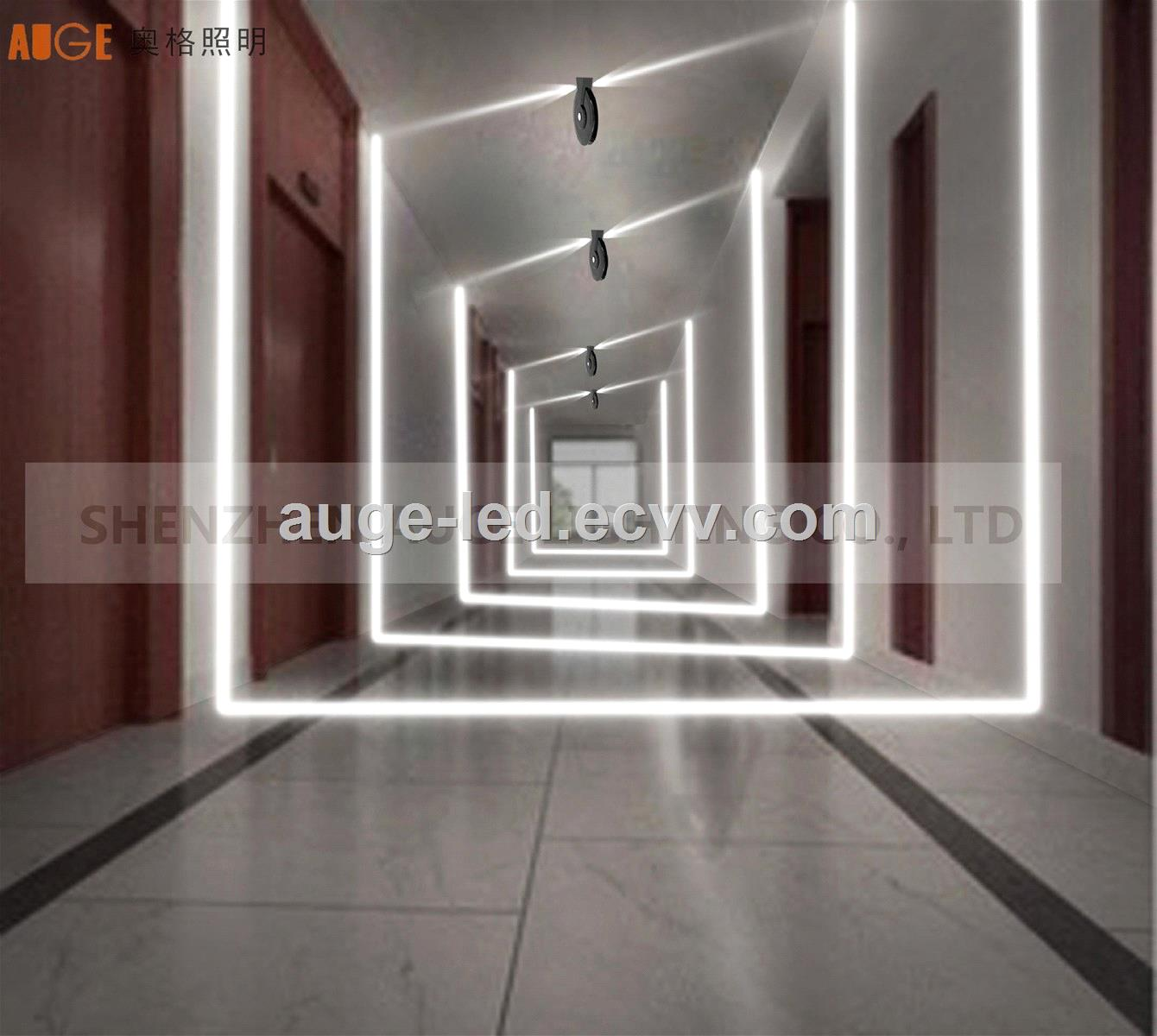 AUGEFIND 360deg led window lamp IP65 window lamp replace stripwall washer lightarchitectural outline decorative lamp
