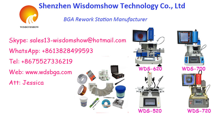WDS620 Motherboard Repairing Solder Type Bga Rework Station for Ic Chip Replcement Tool