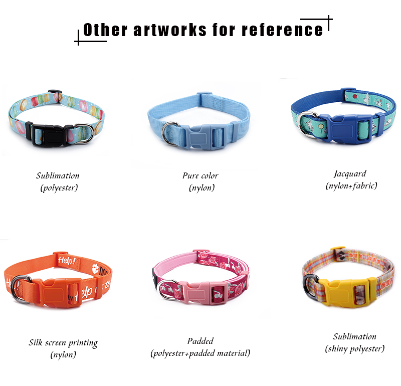 China factory wholesale personalized dog collars
