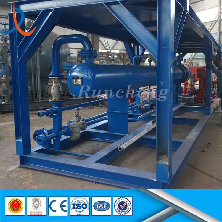 API shell and tube heat exchanger shell and tube water to steam or air to air heat exchanger