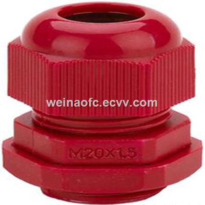 PG7PG48 Cable Gland White Gray Red Plastic Housing WaterProof