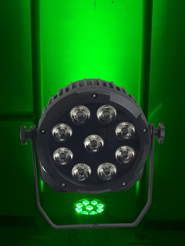Rasha New Stage Light 918W 6in1 LED Par Light RGBAW UV Aluminum LED Par Projector Battery Powered Wireless