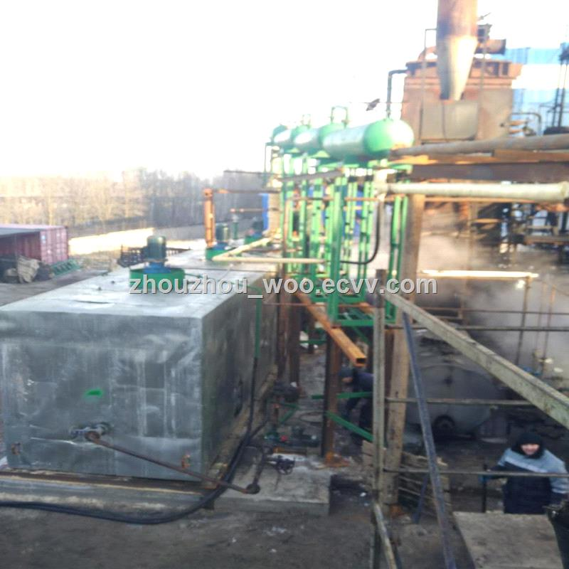 chongqing ZSA1 vacuum distillation machine to base oilblack engine oil recycling machine