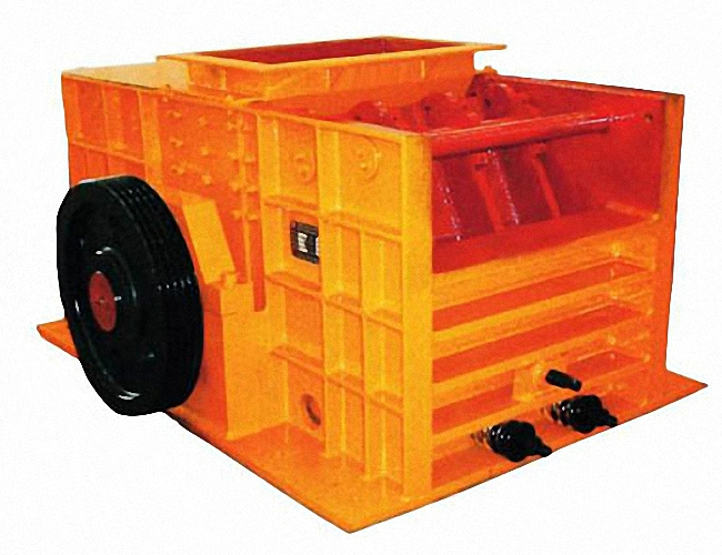 High efficient low noise ring coal hammer crusher