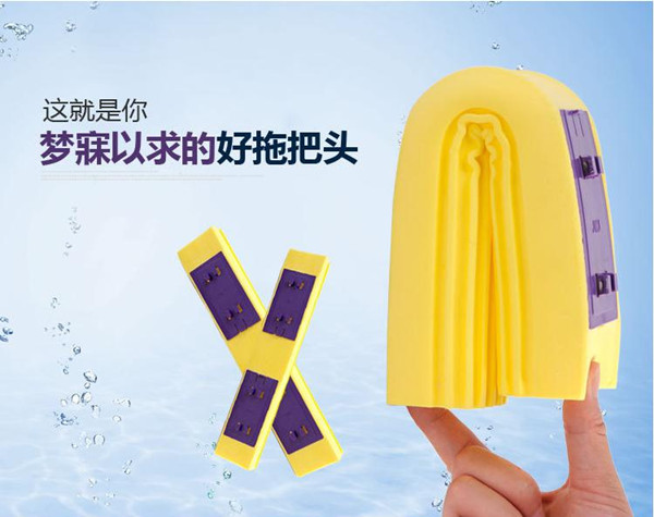 PVA Sponge Mop Foldable Head with Super Absorbent Houseware Cleaning Tools