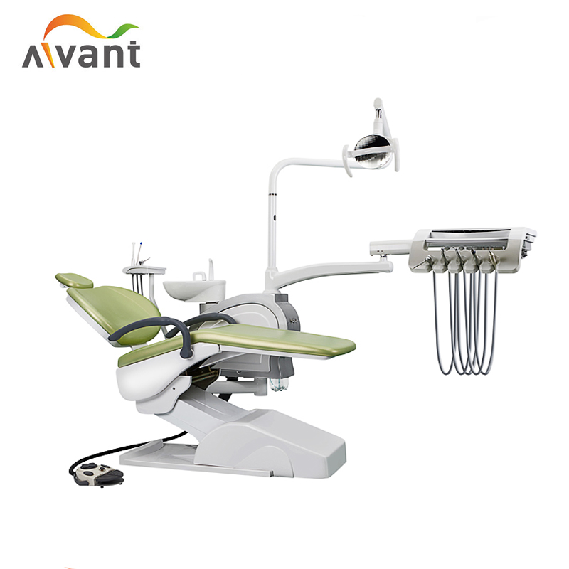 CE ISO Approved Foshan down Mounted Dental Chair Unit with Memory System