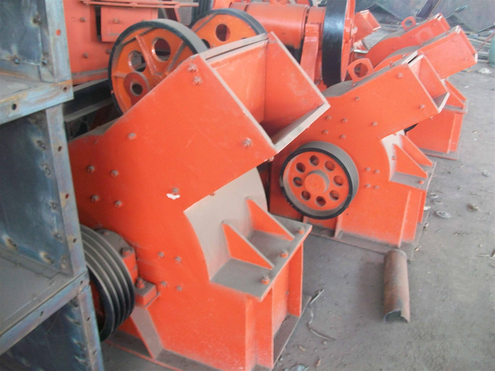 Hammer Crusher For Rock Stone Mineral Crushing machine