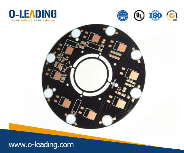 High power led aluminum pcb china PCB factory who export the goods to Europe