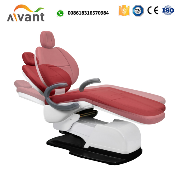 Foshan new design luxury leather dental chair with memory program