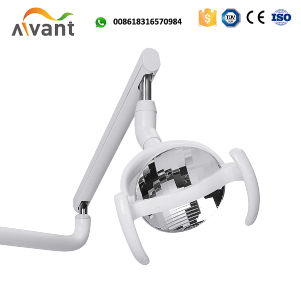 FDA approved foshan dental unit chair with down mounted tray