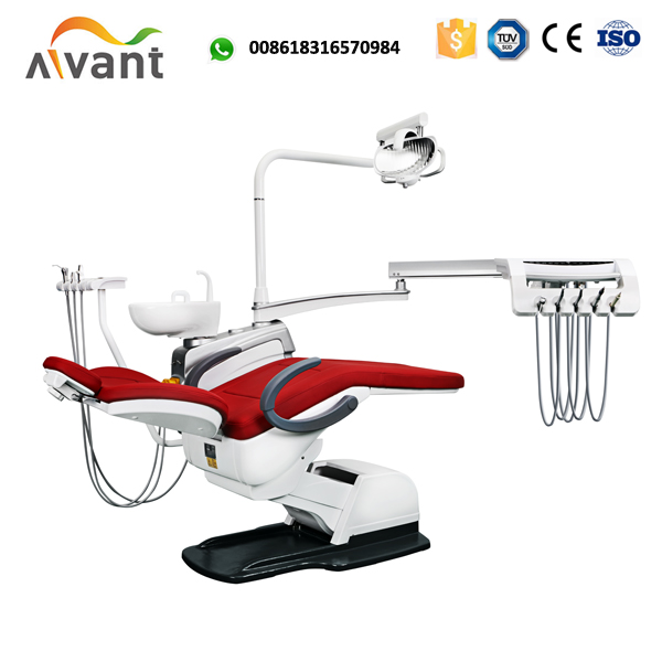 Economic type electric motor PU dental chair with dentist chair