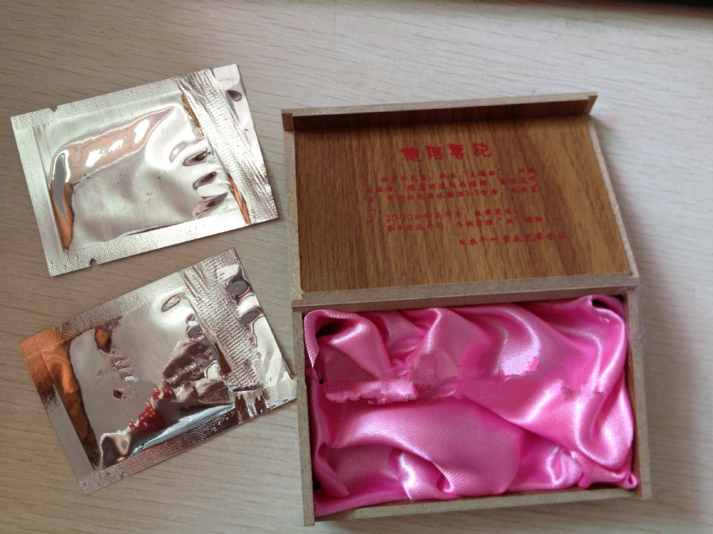 Joan of ARC Red artifical hymen Female sex products Wholesaleswooden box package