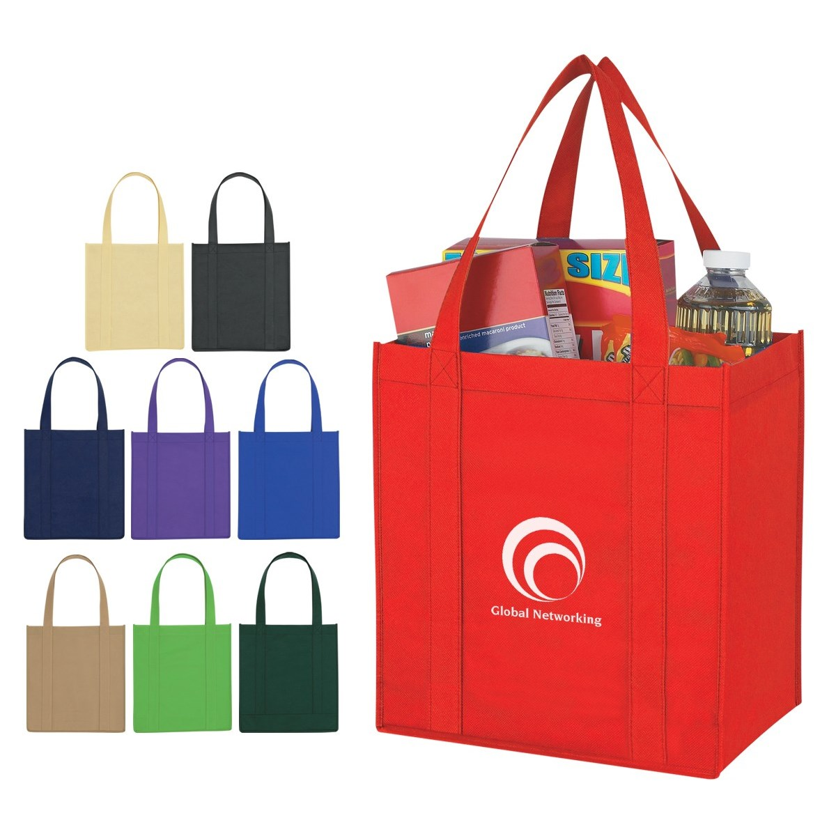 Recyclable Promotion Eco NonWoven Advertising Bag Popular Nonwoven Fabric Promotional Bag for Shopping