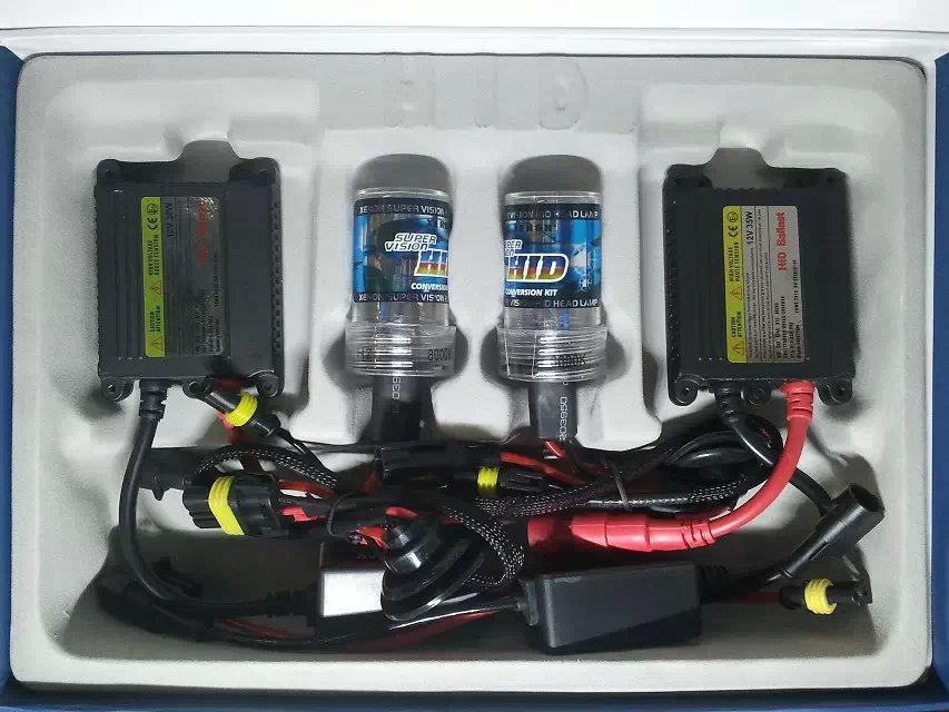 HID Xenon Kit Luces HID Xenon slim ballast 35W DC xenon kit car headlamp high quality